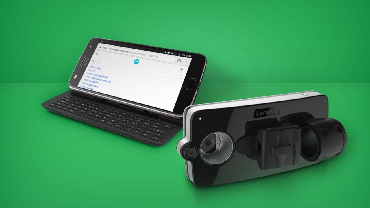 Moto Mod teclado vital