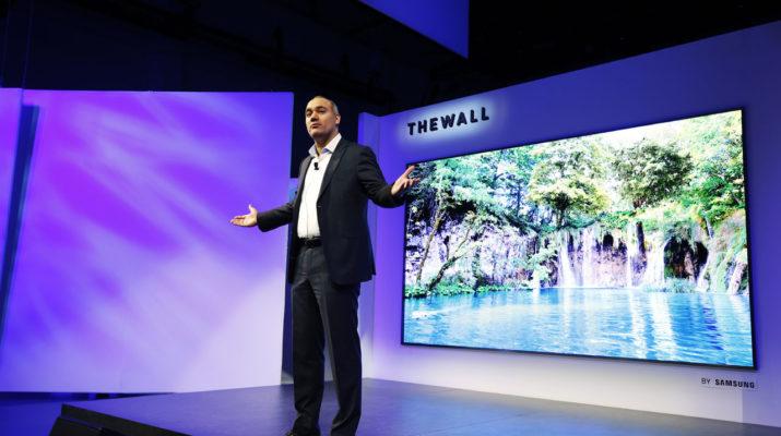 Samsung The Wall modular