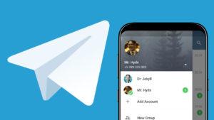 Telegram multiples cuentas