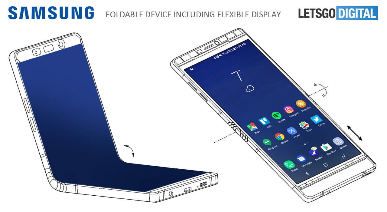 Project Valley, prototipo de smartphone plegable de Samsung