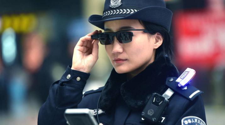 China gafas delincuentes