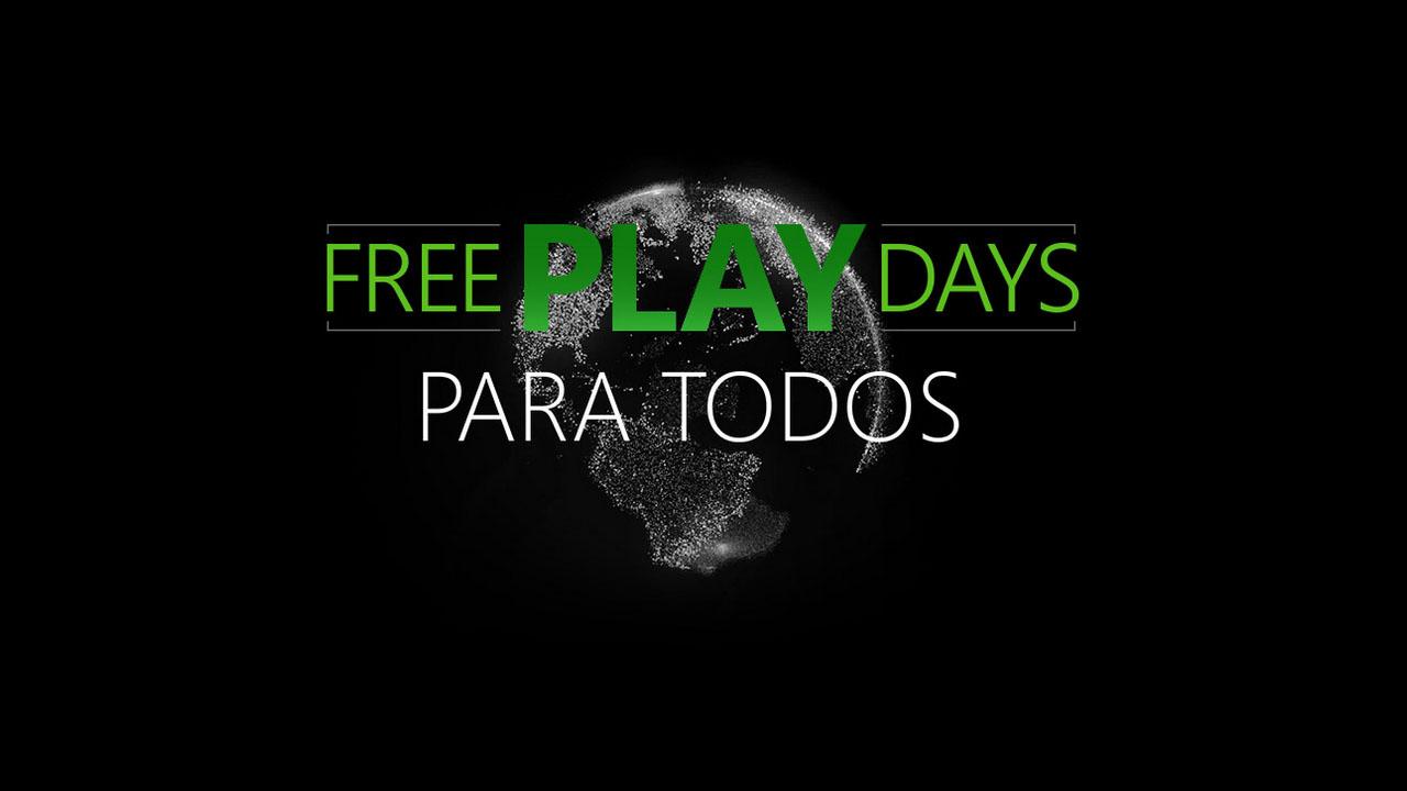 Free Play Days Xbox