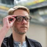 Vaunt, las gafas inteligentes de Intel que parecen anteojos normales