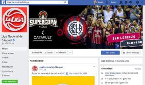 La Liga Argentina Facebook