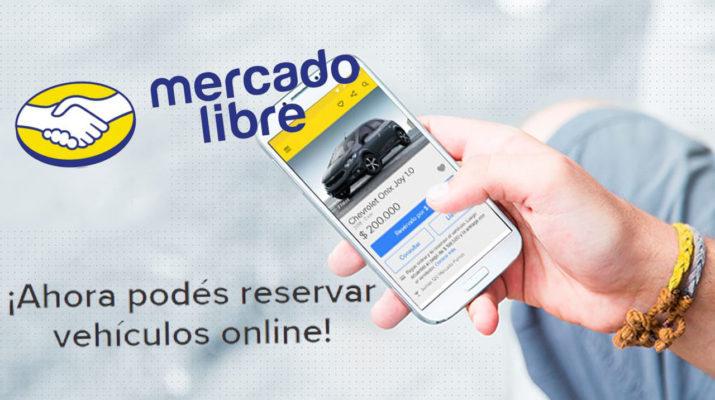 MercadoLIbre autos reserva