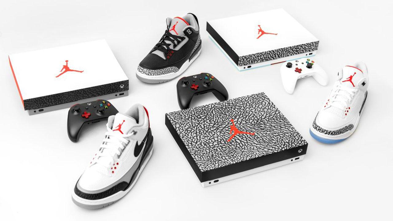 Xbox One X Air Jordan III