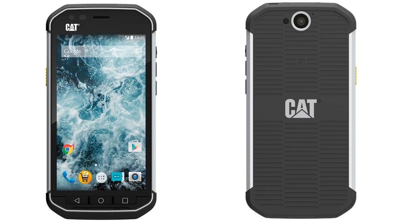 2aa47dbb328 CAT S40: los celulares todoterreno llegaron a la Argentina