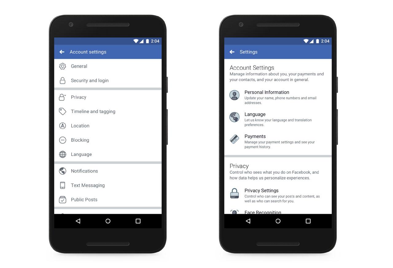 Privacidad Facebok moviles