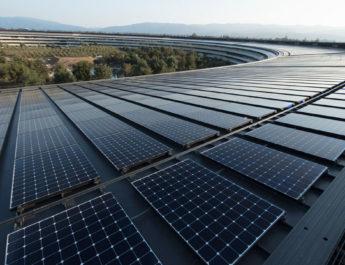 Apple Park energia solar