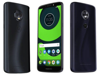 Moto G6 Plus Moto G6 Play