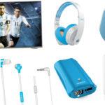 TV 4K, tablet y auriculares y parlantes inalámbricos: ediciones limitadas de Noblex por el Mundial 2018