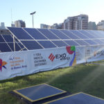 La Feria del Libro se abastece de energía solar