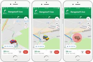 Google Maps autos