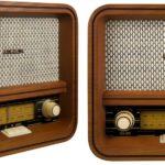 Noblex presentó una radio estilo vintage diseñada en madera, con Bluetooth y USB