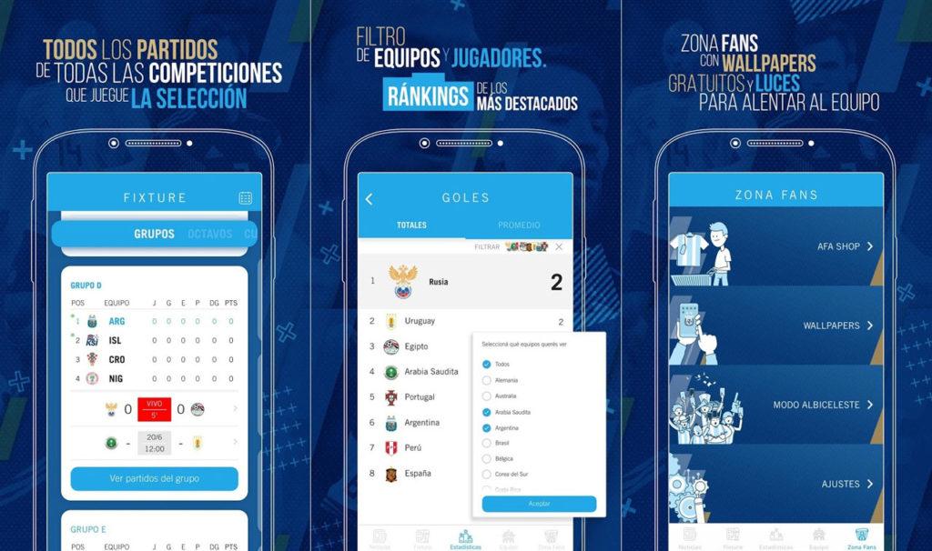 AFA Seleccion Mundial 2018