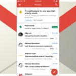 Gmail para celulares solo enviará notificaciones importantes