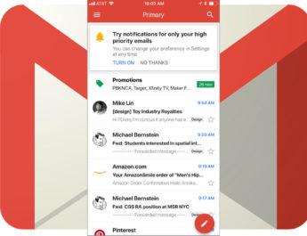 Notificaciones importantes Gmail
