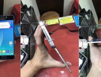 Samsung celular plegable