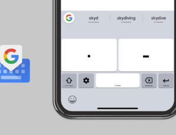Codigo Morse Teclado Google