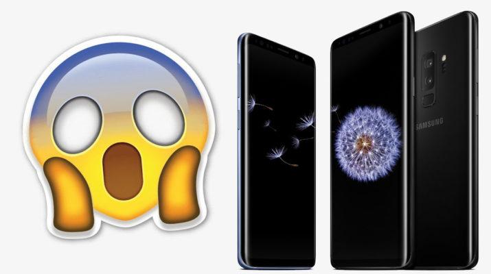 Galaxy S9 mensajes