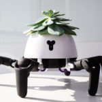 Un robot lleva tus plantas al sol o la sombra cuando lo necesitan y te avisa si necesitan agua