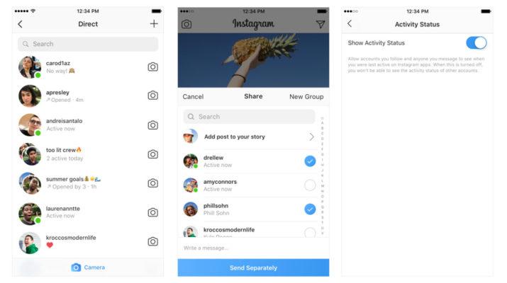 Instagram amigos conectados
