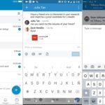 LinkedIn agregó 6 funciones a su servicio de mensajería, incluidas adjuntar archivos desde el celular y menciones