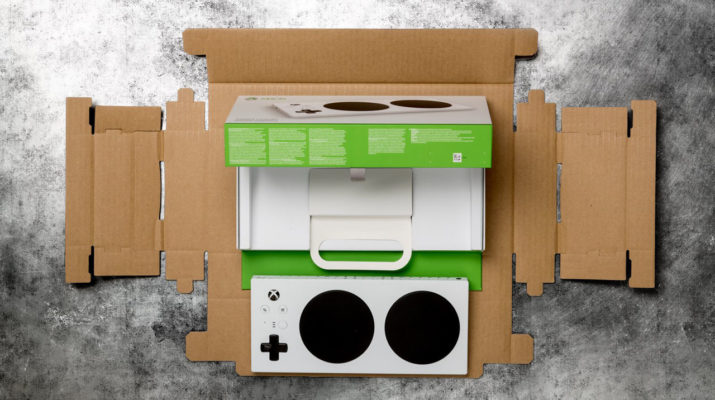 Packaging Xbox Adaptive Controller