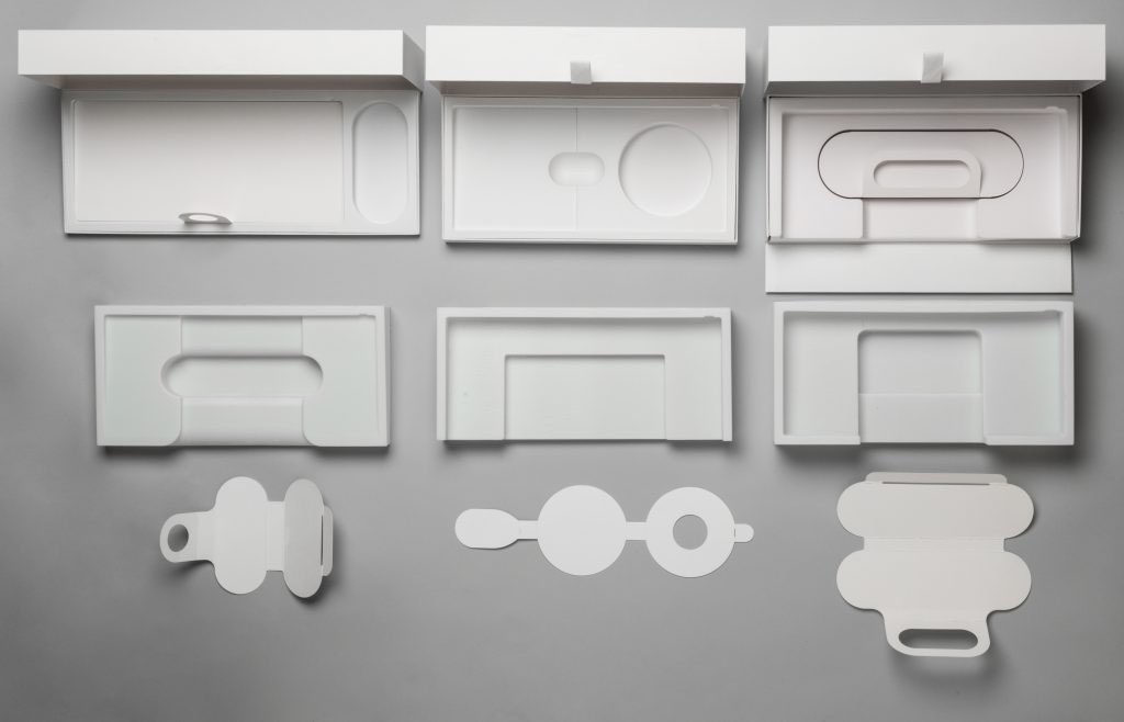 Packaging Xbox Adaptive Controller prototipo