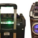 PCBox presentó Floyd, un parlante para conectar dos dispositivos con Bluetooth al mismo tiempo