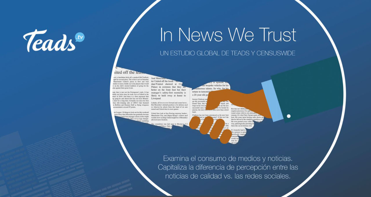 Teads in news we trust