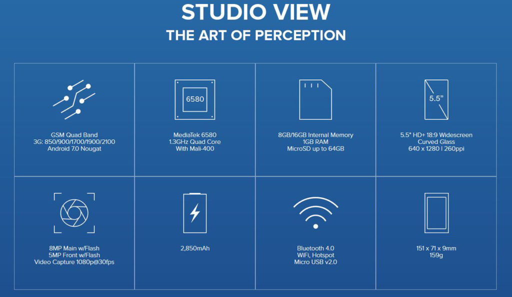 BLU Studio View