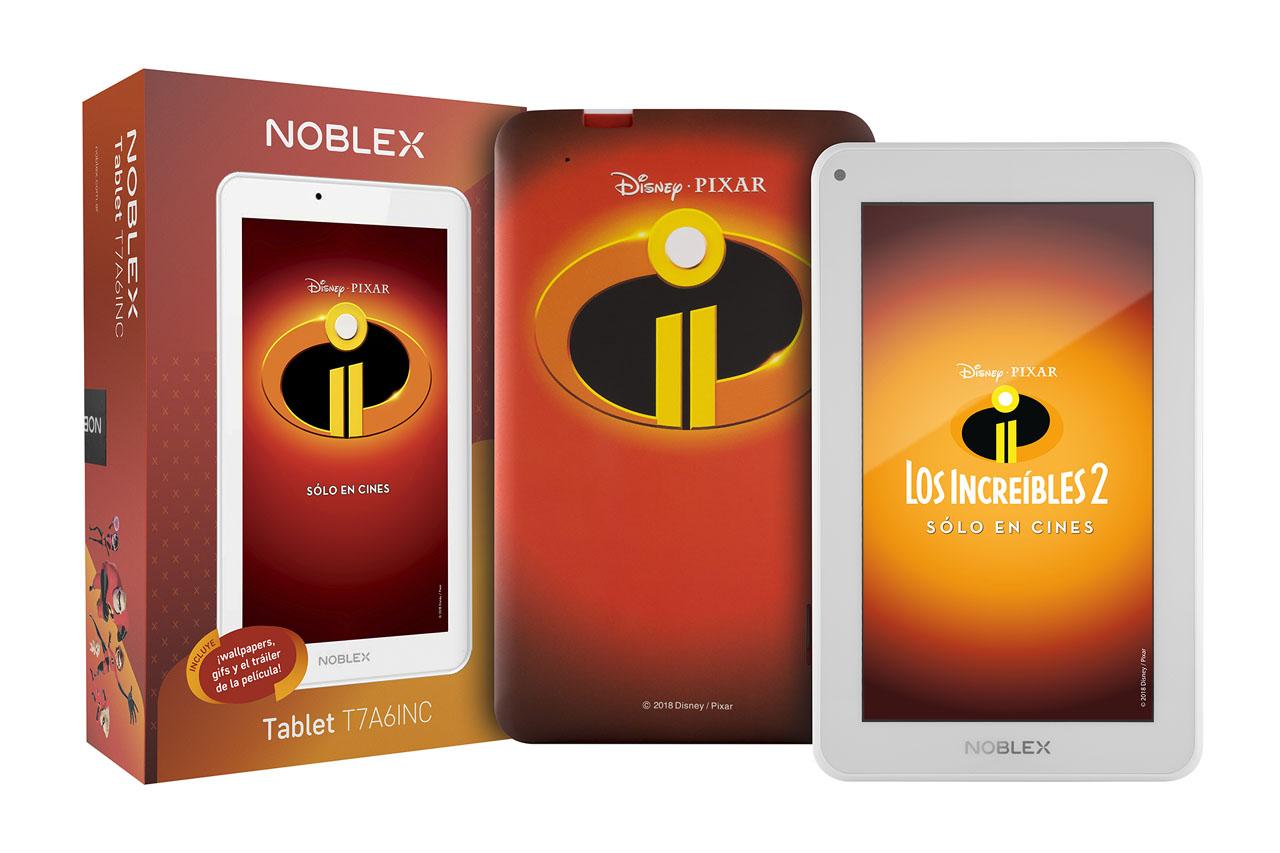 Tablet Noblex Los Increibles