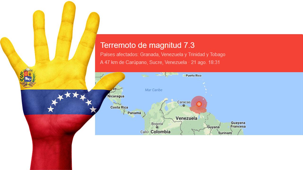 Sismo venezuela