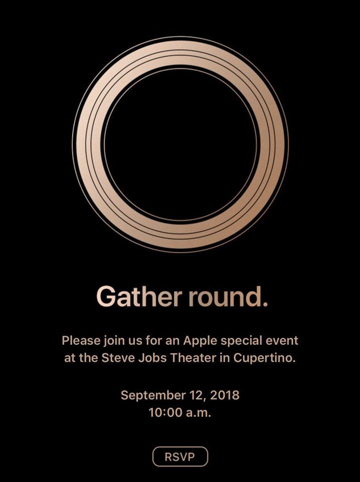 iPhone XS invitacion
