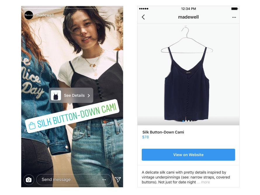 Compras Instagram Historias