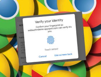 Huellas Chrome Android