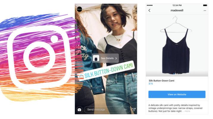 Instagram Compras Historias