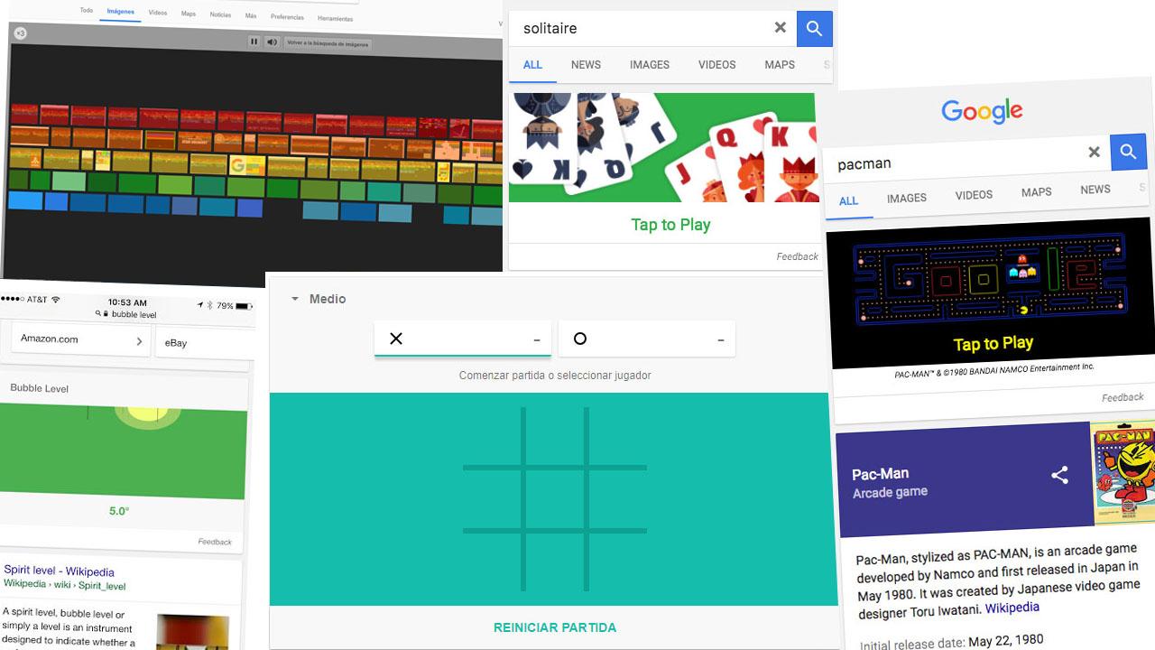 Las Principales Funciones Y Juegos Ocultos De Google