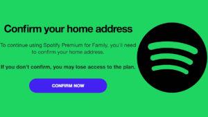 Plan familiar Spotify