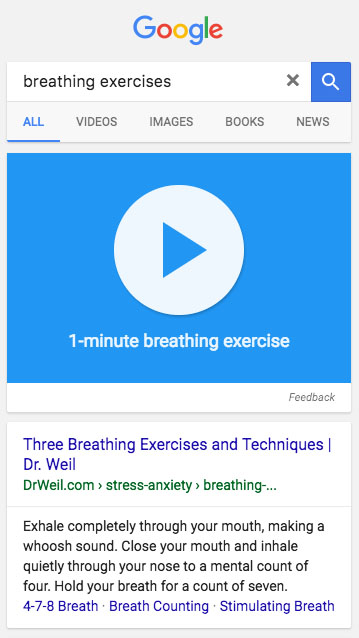 Respiracion Google
