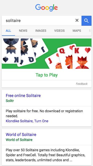 Solitario Google