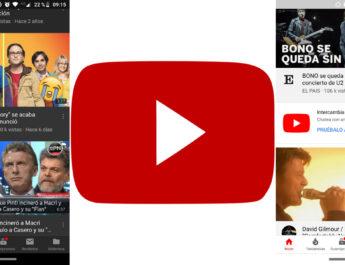 Tema oscuro YouTube