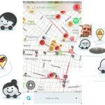 ¿Cómo se actualizan los datos del tráfico en Waze y cómo puedo ayudar a hacerlo?