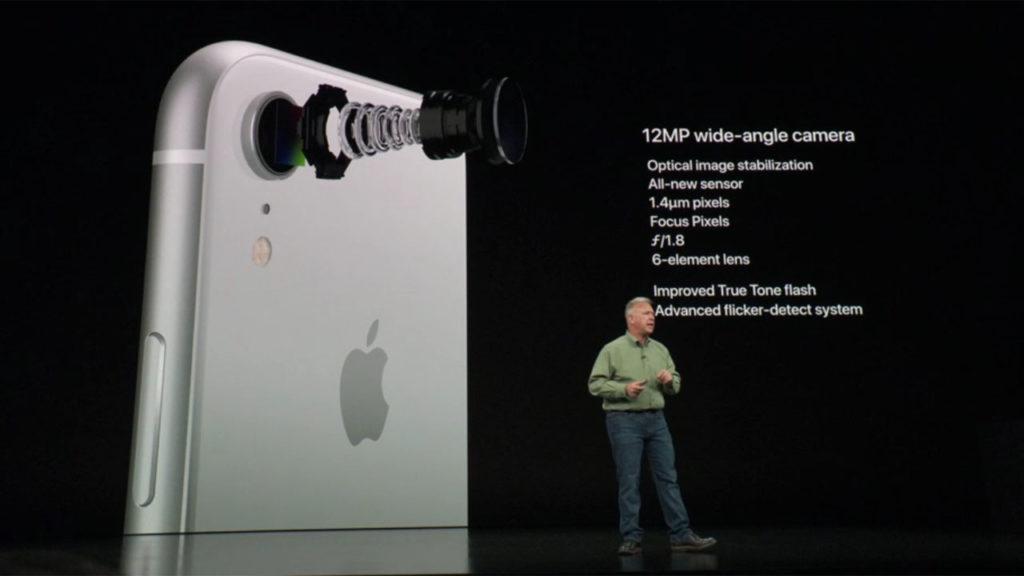 iPhone XR camara