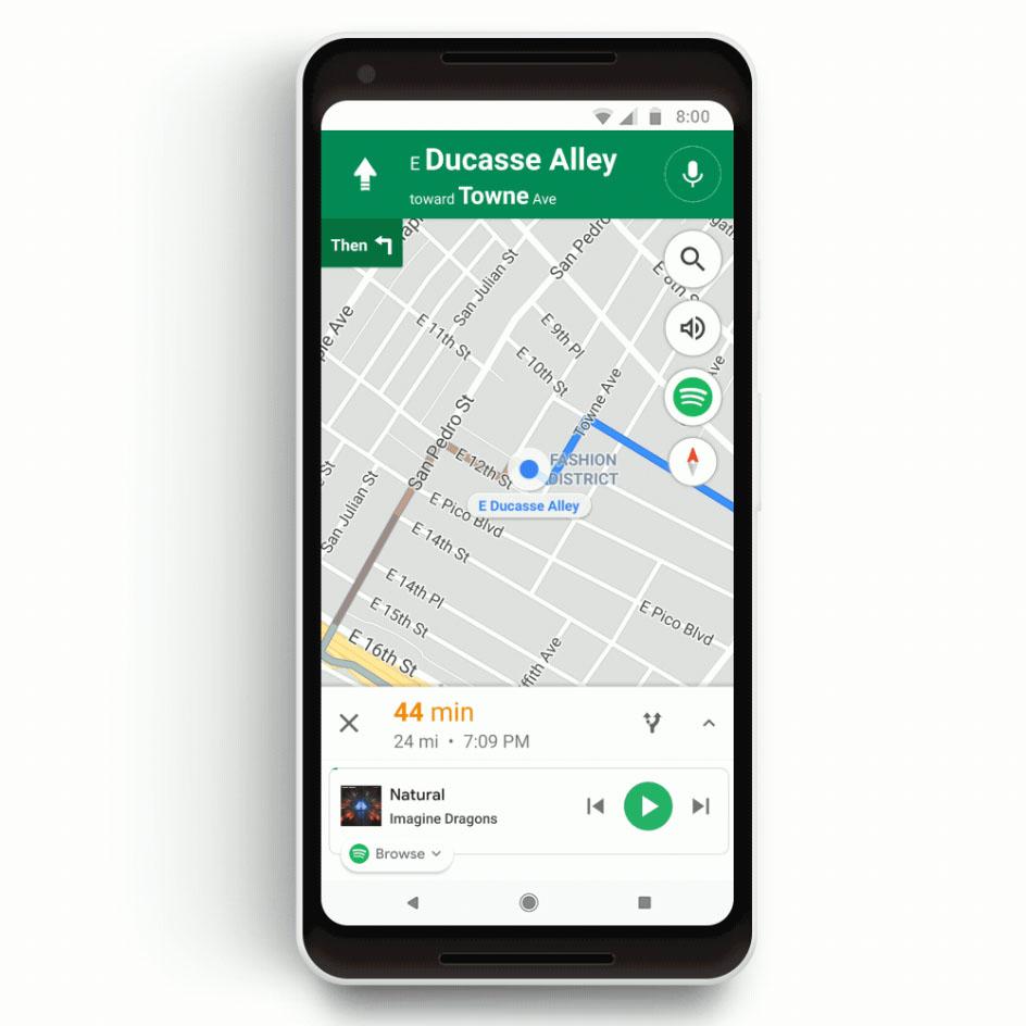 Google Maps Spotify