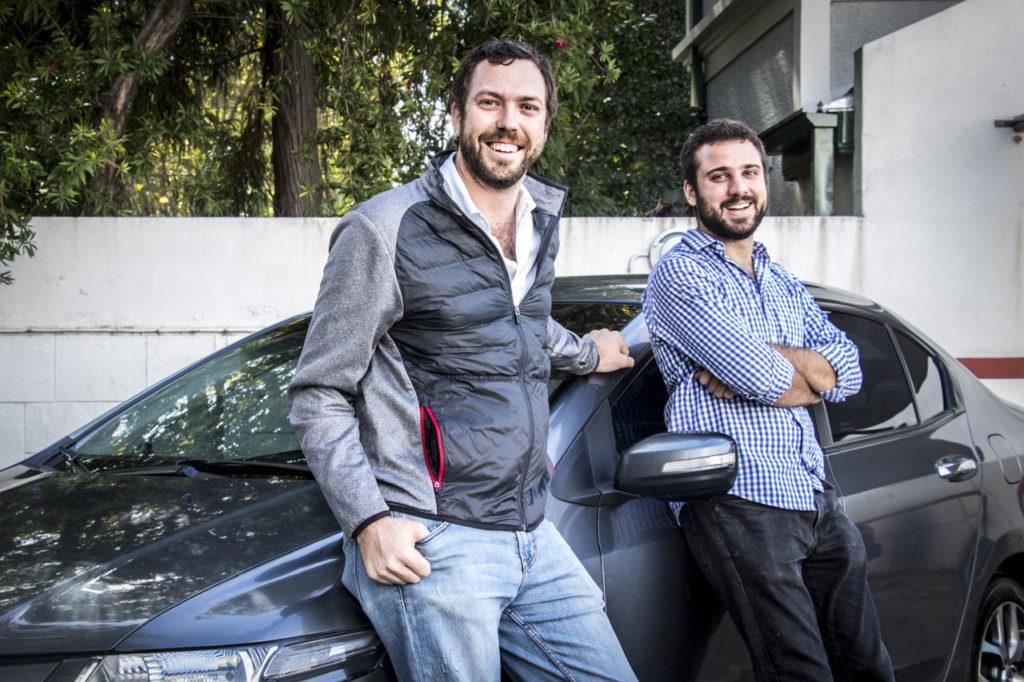 Jaime Macaya y Juan Cruz de la Rúa fundadores Checkars