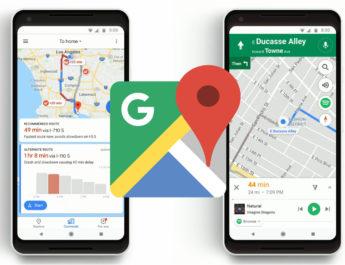 Nuevas funciones Google Maps