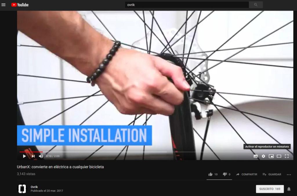 YouTube miniatura