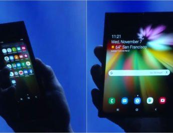 El celular plegable de Samsung tiene fecha de presentación